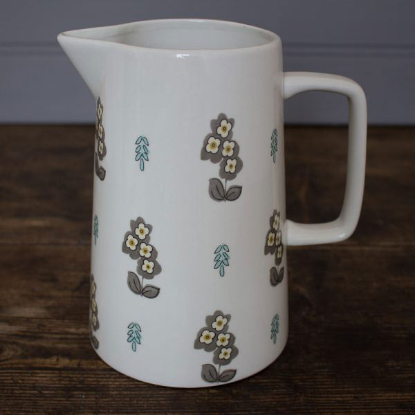 Pretty Retro Simple Floral Large Jug-0