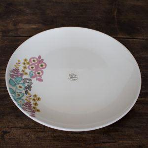Pretty Retro Floral Dinner Plate-0