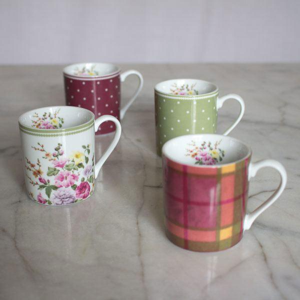 Highland Fling Set of 4 Espresso Cups-0