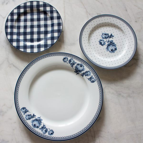 Katie Alice Vintage Indigo Dinner Plate