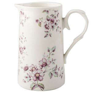 Ditsy Floral White Jug-0