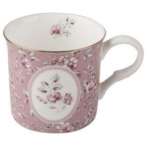 Ditsy Floral Pink Palace Mug-0