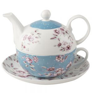 Ditsy Floral Tea For One with Saucer-0