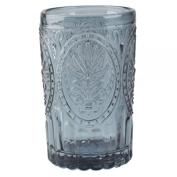 Navy Glass Tumbler-0
