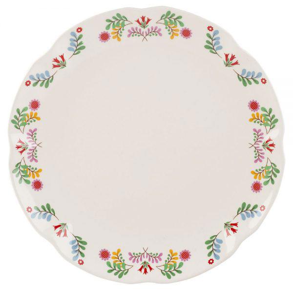 Festival Folk Dinner Plate-0