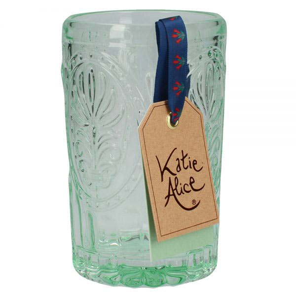 Green Glass Tumbler-1434