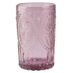 Pink Glass Tumbler-0