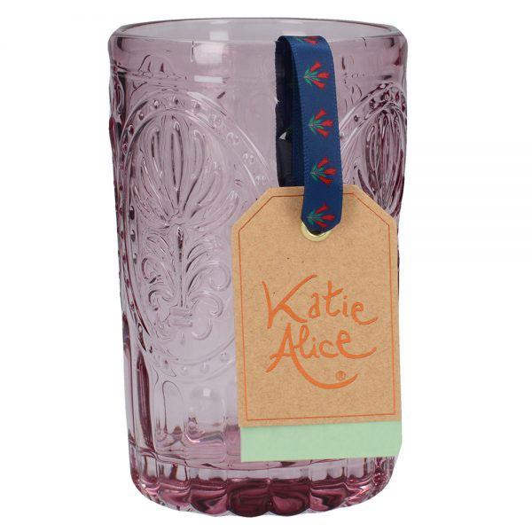 Pink Glass Tumbler-1424
