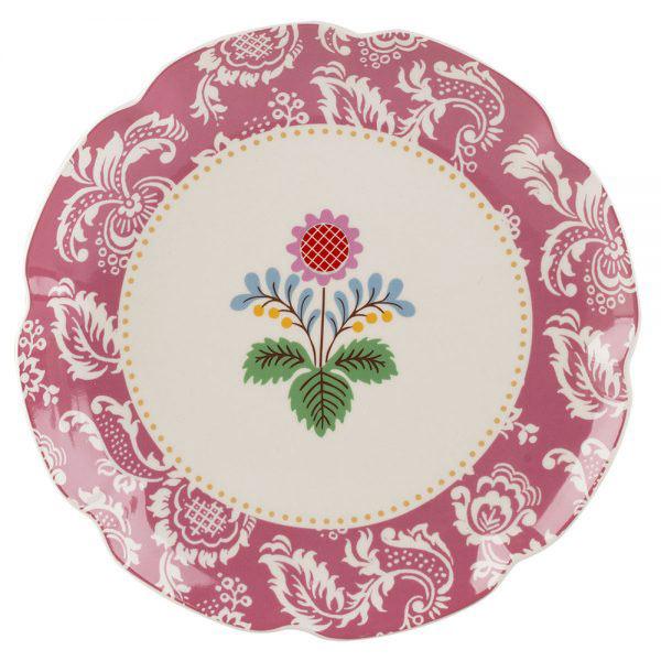 Festival Folk Pink Side Plate-0