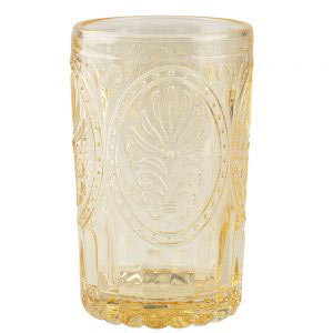 Yellow Glass Tumbler-0