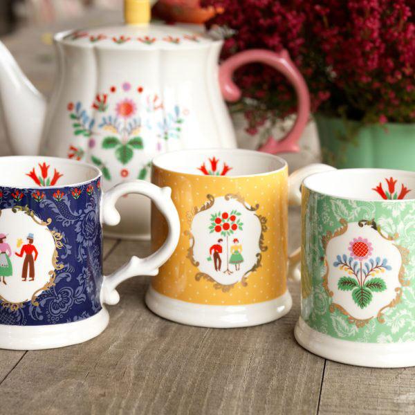 Festival Folk Teapot-1411