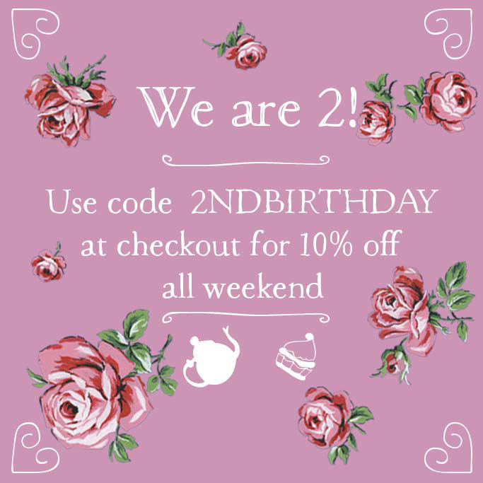 The Katie Alice shop is two!