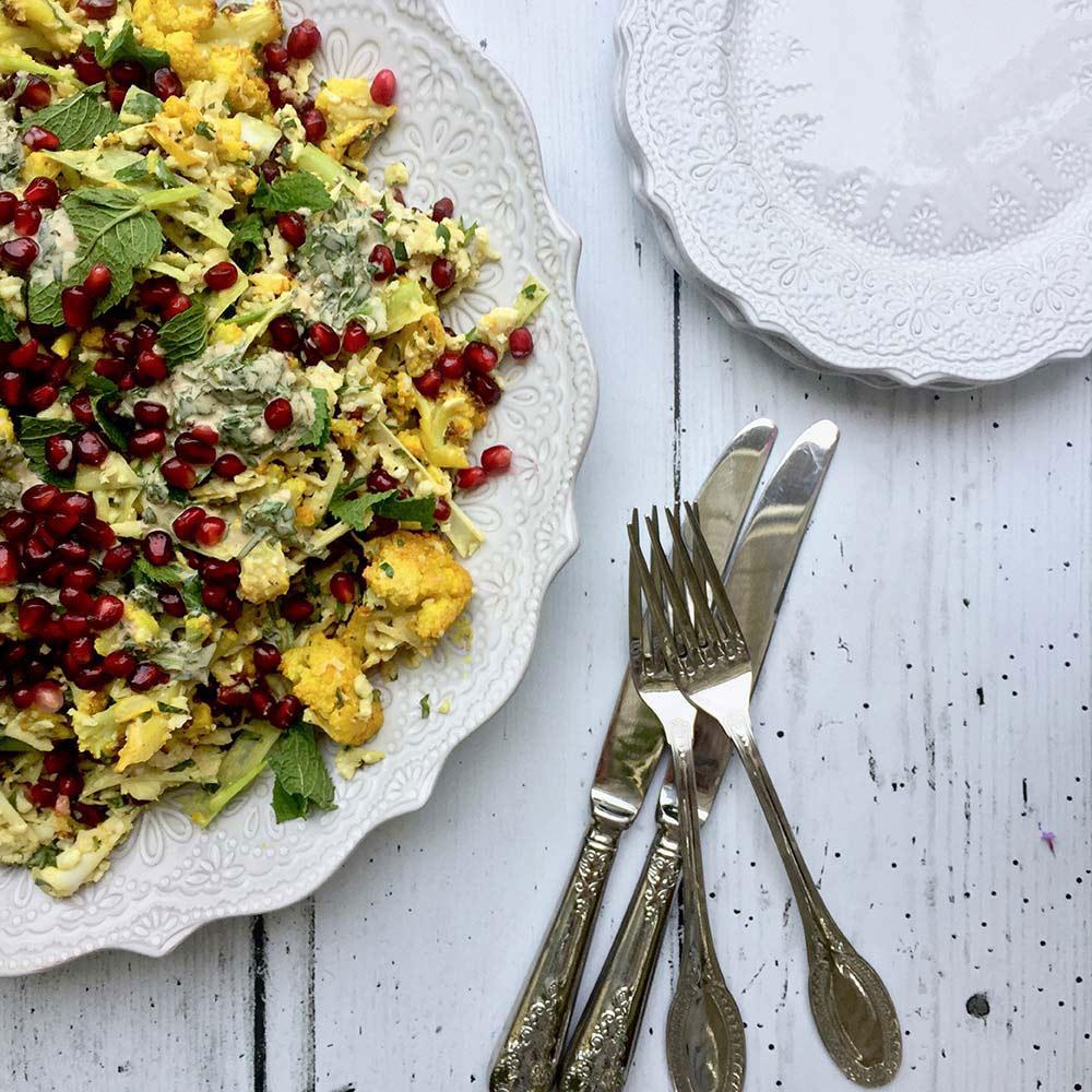 Birthday Parties and Cauliflower salads