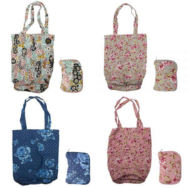Pretty Retro Foldaway Bag-1508