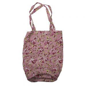 Ditsy Floral Foldaway Bag Pink-0