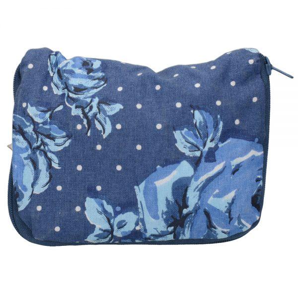 Vintage Indigo Foldaway Bag-1487