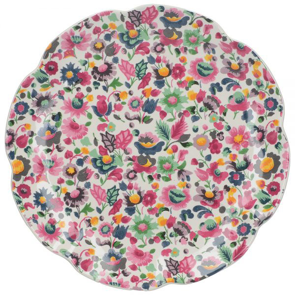 Blooming Fancy All Over Print Side Plate-0