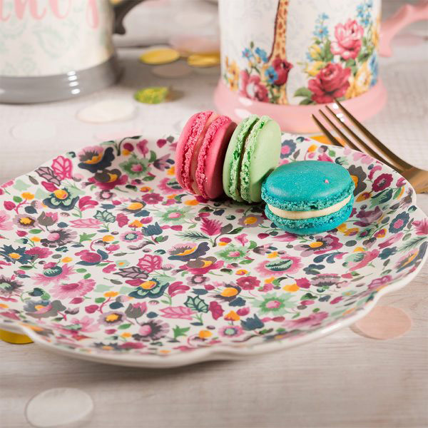 Blooming Fancy All Over Print Side Plate-1614
