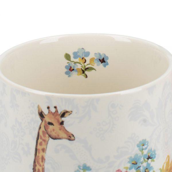 Blooming Fancy Giraffe Tankard Mug-1587