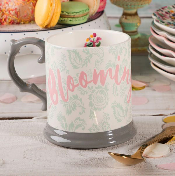 Blooming Fancy Slogan Tankard Mug-1584