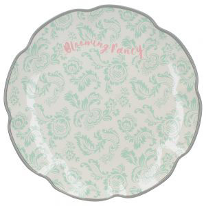 Blooming Fancy Slogan Side Plate-0