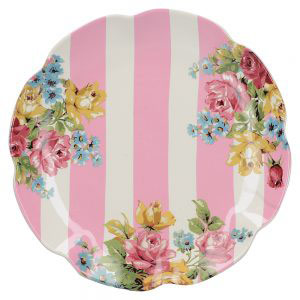 Blooming Fancy Stripe Side Plate-0