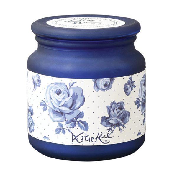 Vintage Indigo Jar Candle