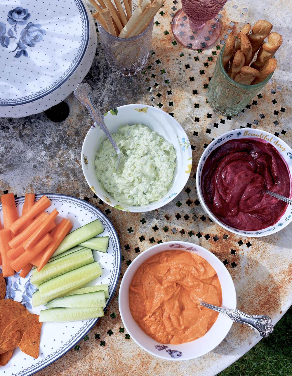 Homemade Dips for Summer Days
