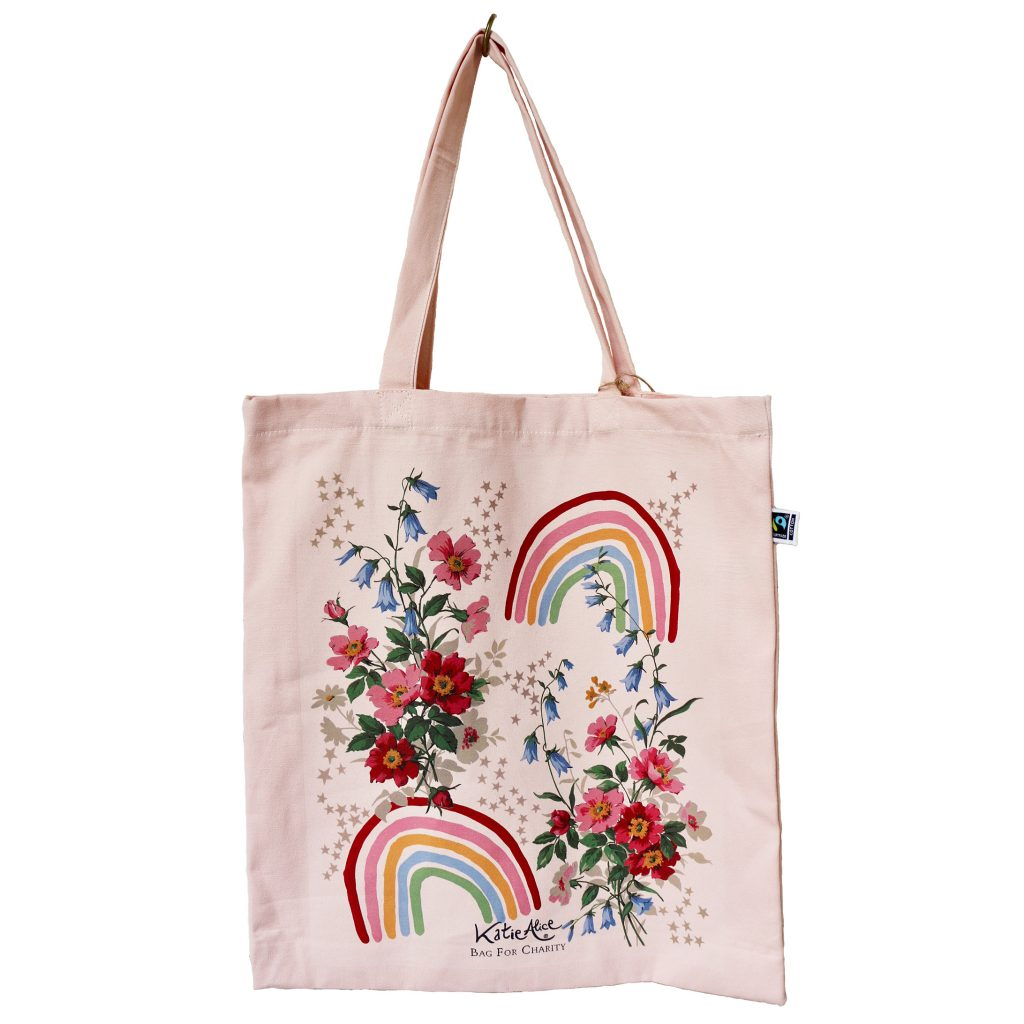Rainbow Charity Bag