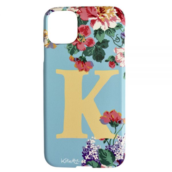 Katie Alice Blue and Yellow phonecase