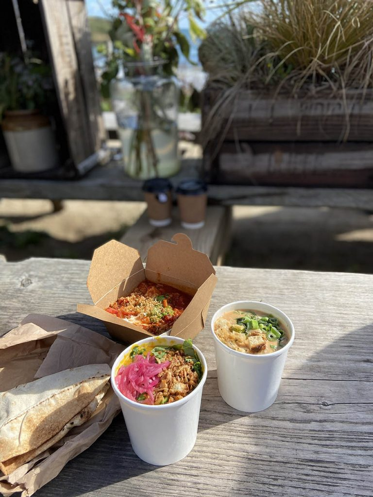 Delicious food from The Hidden Hut