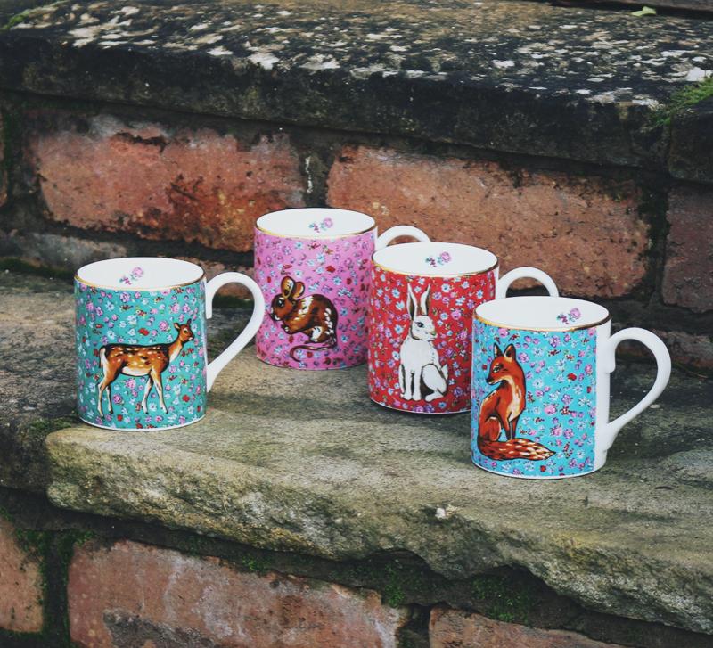 Forest Fling mugs