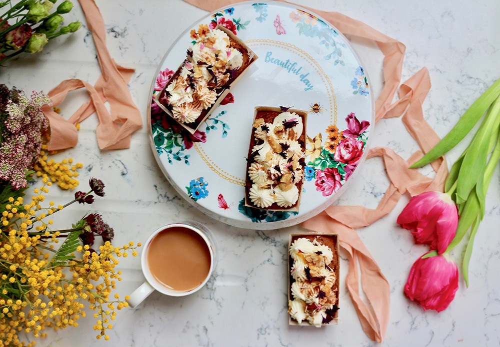 Carrot Cake recipe from Cakes + Co