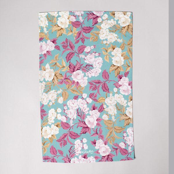 English Roses Tea Towel