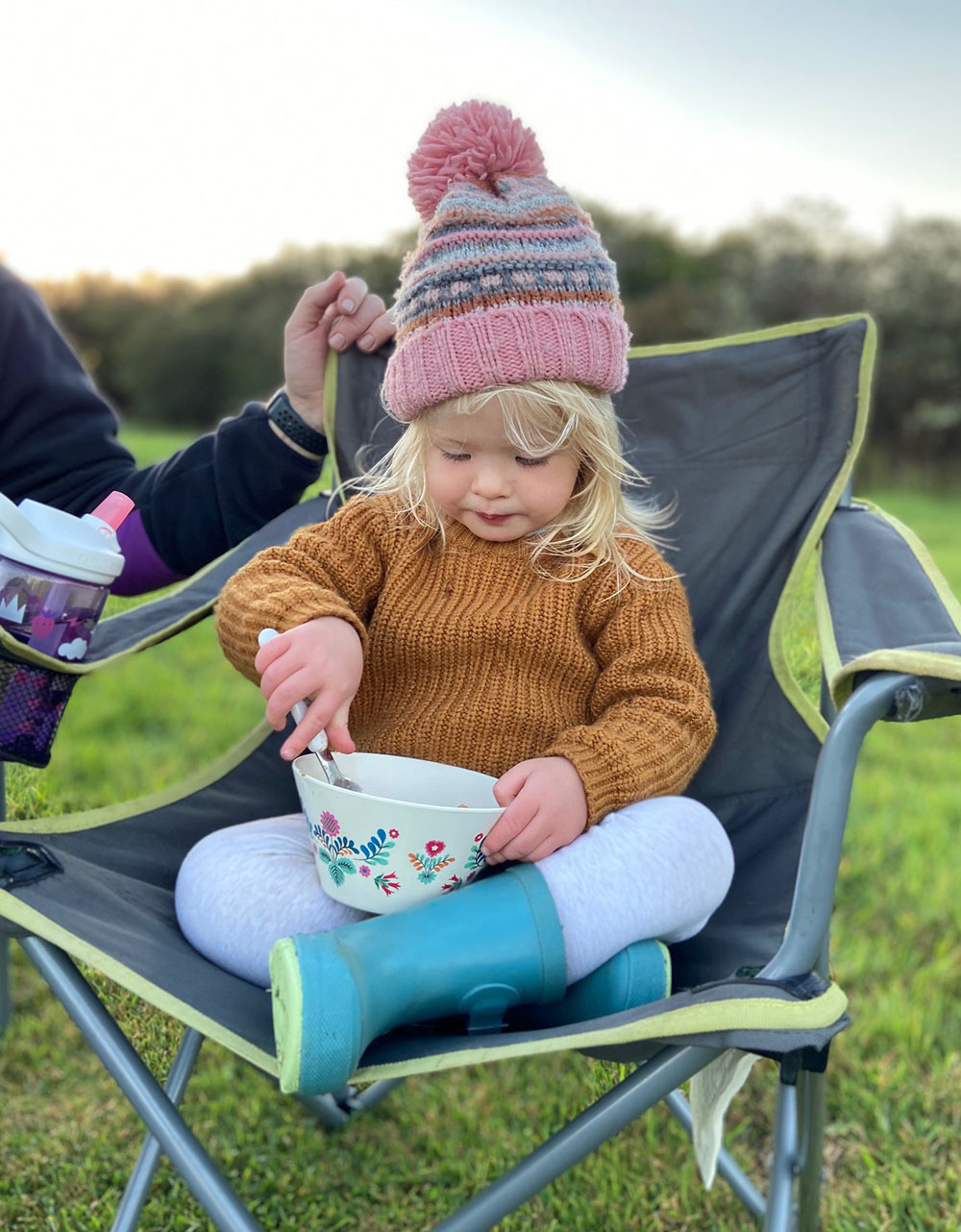 Camping with a toddler