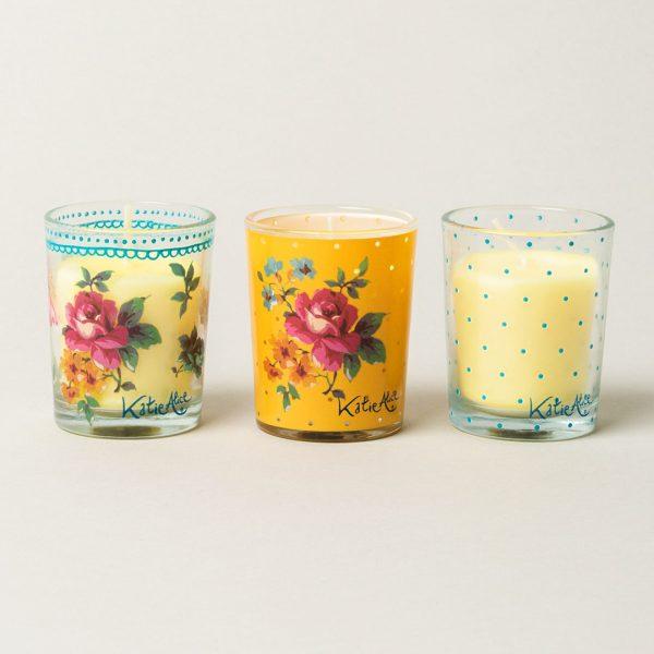 Bohemian Spirit Set Of 3 Mini Candles