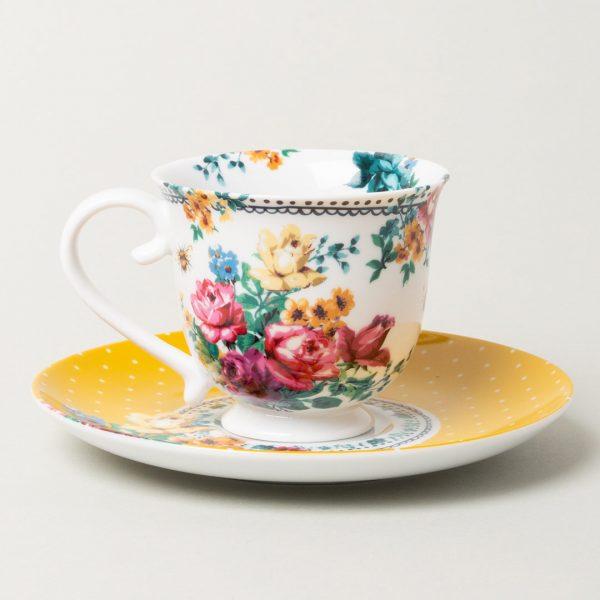 Bohemian Spirit Tea Cup And Saucer