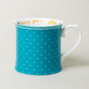 Bohemian Spirit Teal Tankard Mug