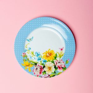 English Garden Blue Side Plate