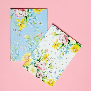 English Garden Set Of Two Notebooks