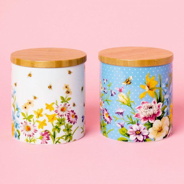 English Garden Storage Jars