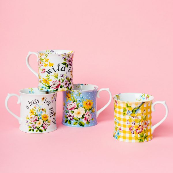 English Garden Tankard Mugs