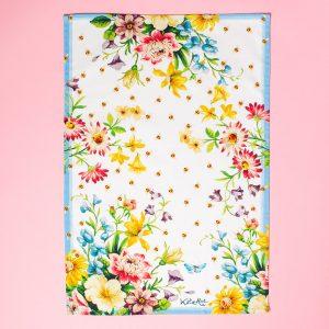 English Garden Tea Towel