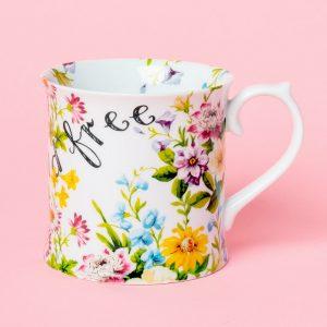 English Garden Wild And Free Tankard Mug