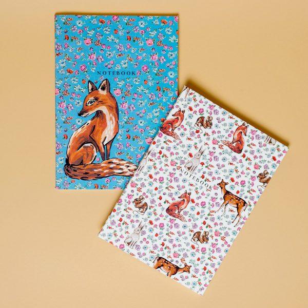 Forest Fling Set Of 2 Notebooks