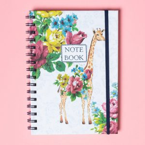 Katie Alice Giraffe Notebook