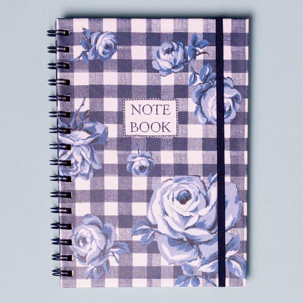 Vintage Indigo A5 Notebook