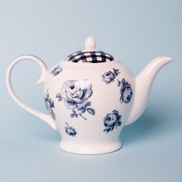 Vintage Indigo Teapot
