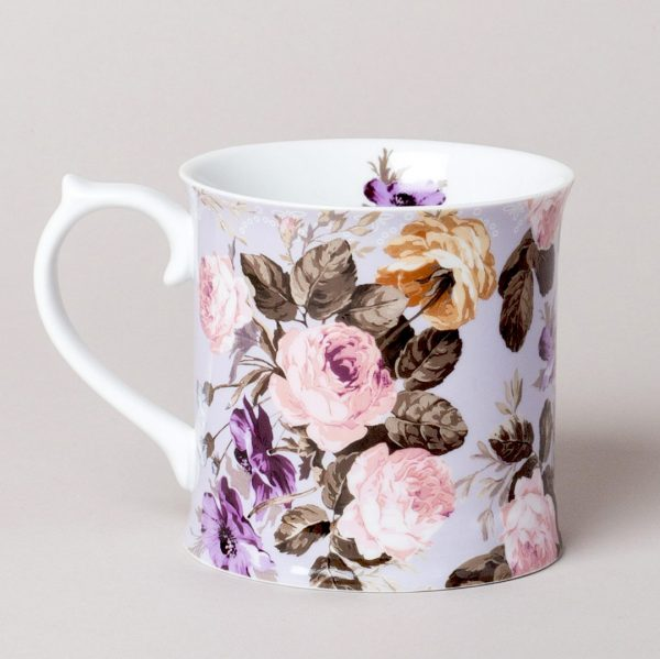 Wild Apricity Floral Mug