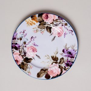 Wild Apricity Floral Side Plate